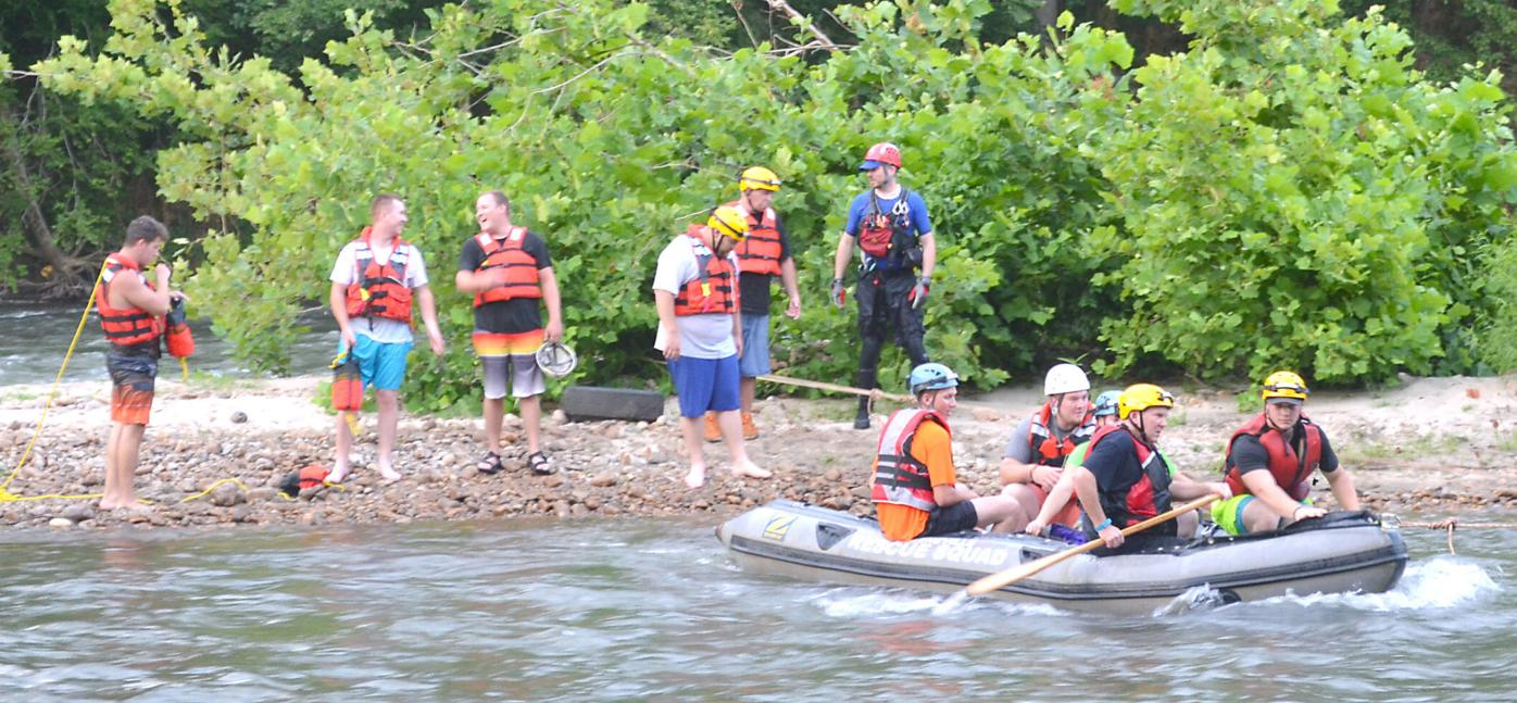 Joint Training Session On Nolichucky River