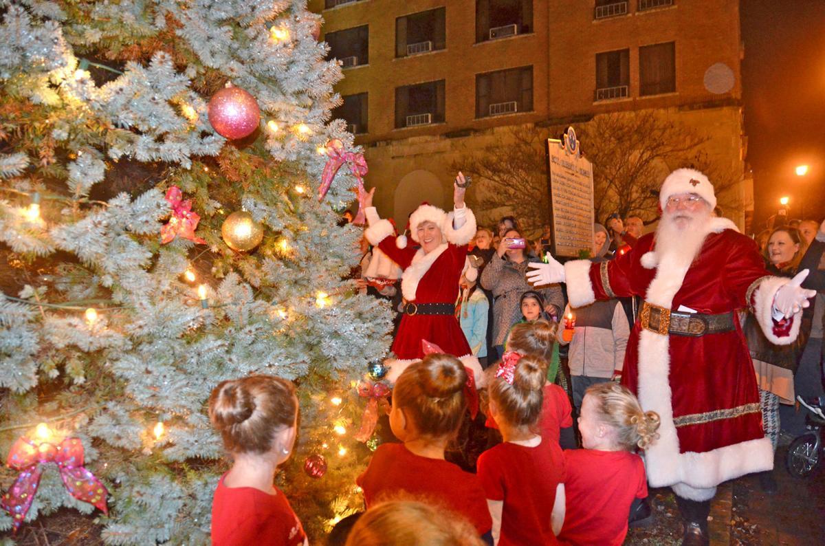 Downtown Christmas Santa