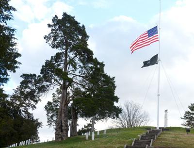 Andrew Johnson Cemetery Flag