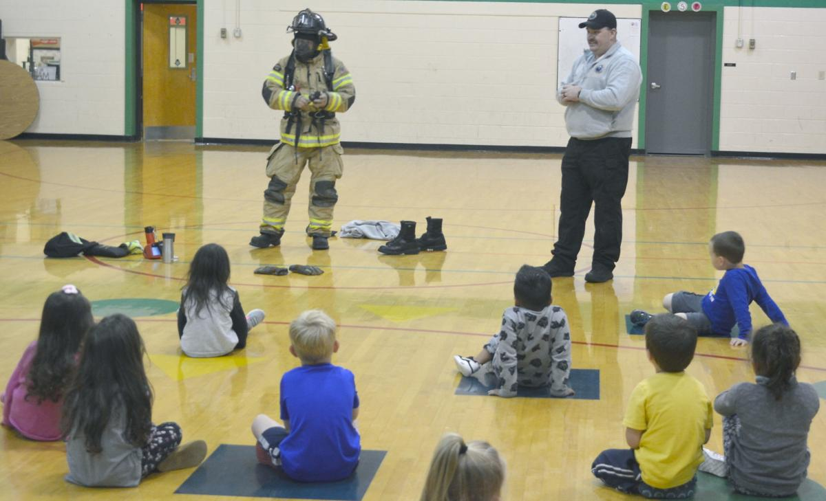 Greeneville Firefighters Offer Safety Tips At EastView Elementary
