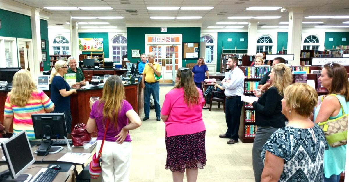 Citizens Academy Visits Library