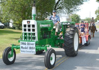 Vintage Tractor In Baileyton Celebration Parade (copy)
