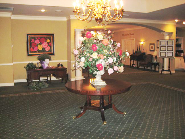 Entry at Kiser-Rose Hill Funeral Home