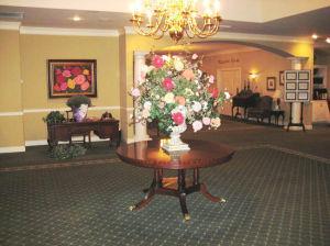 Entry at Kiser-Rose Hill Funeral Home
