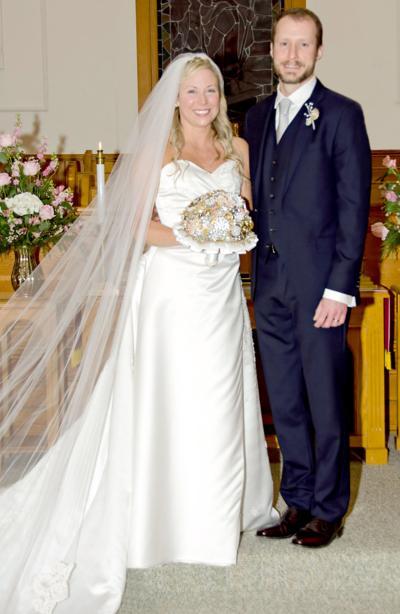 Adrienne Dobson Weds Nicholas Hankins