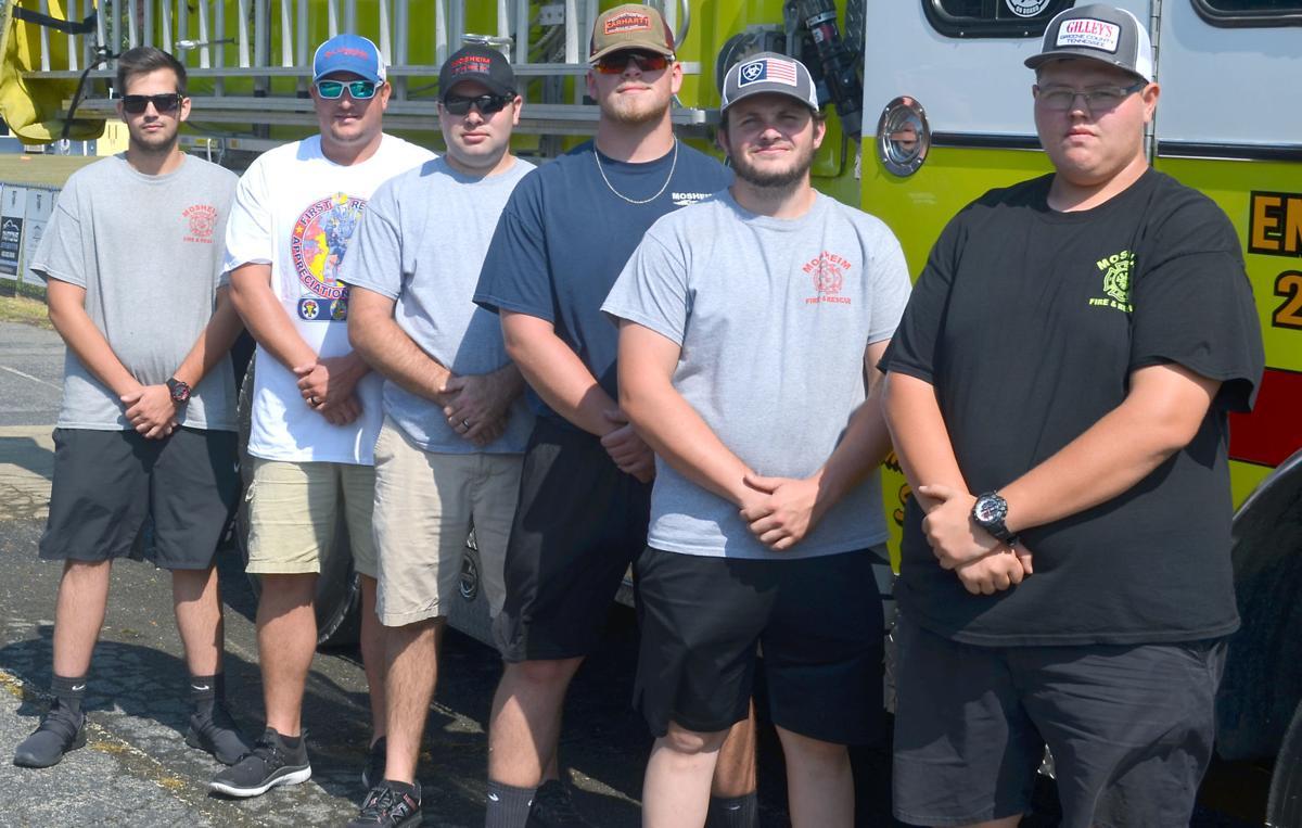 Firefighter Challenge Team Winners