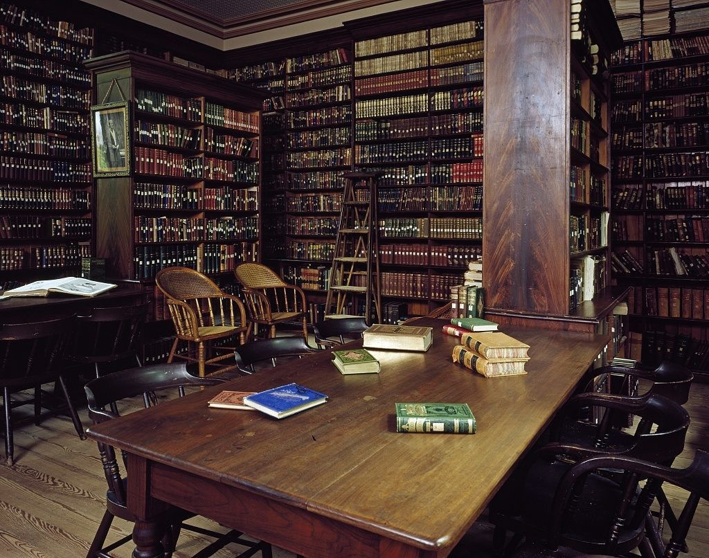 Picturesque Library
