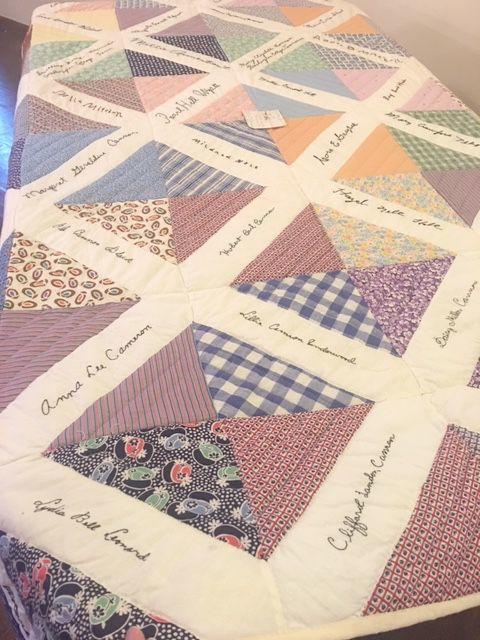 Washington College quilt