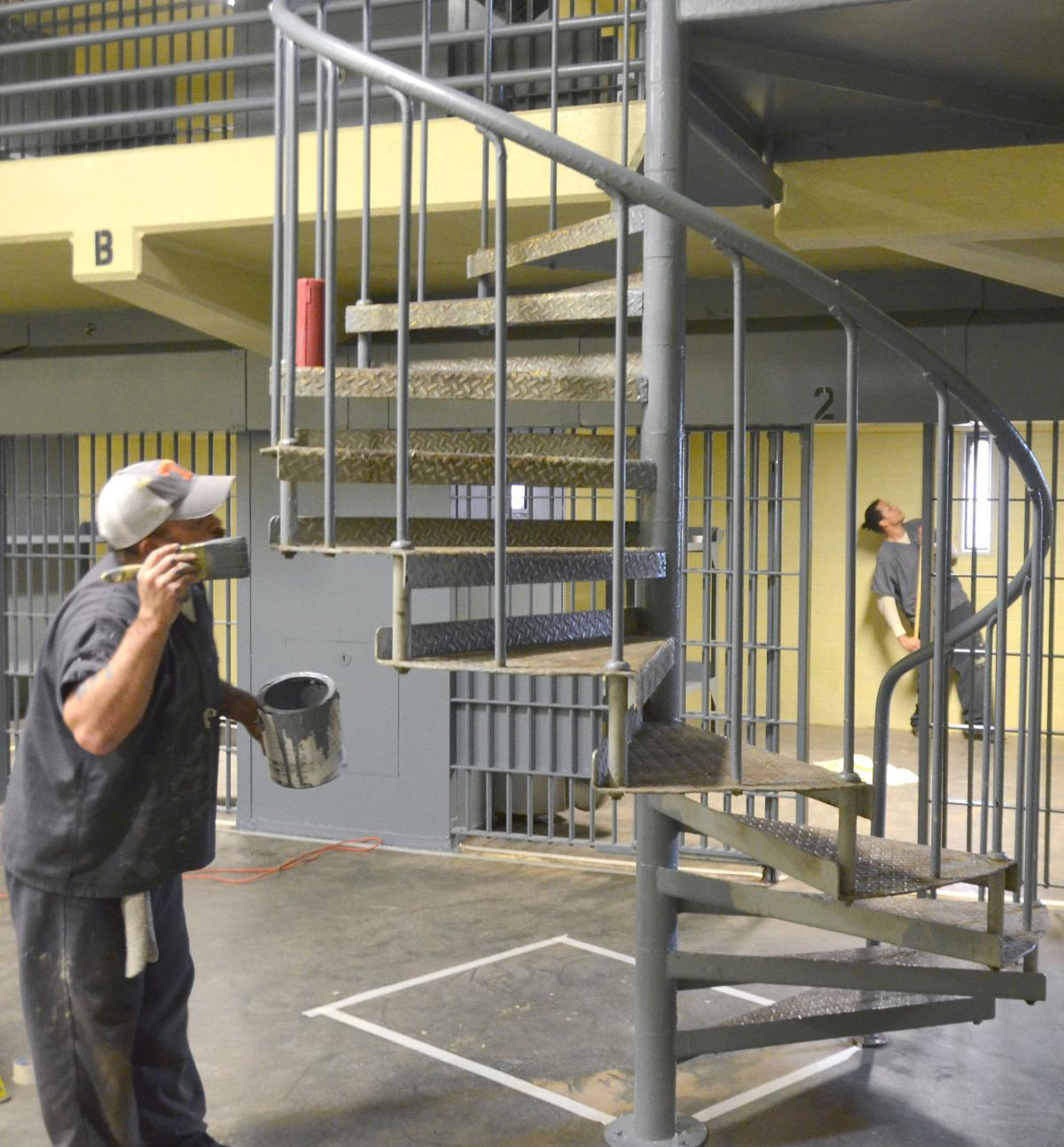 Jail Inmate Pods Get New Coat Of Paint (copy)