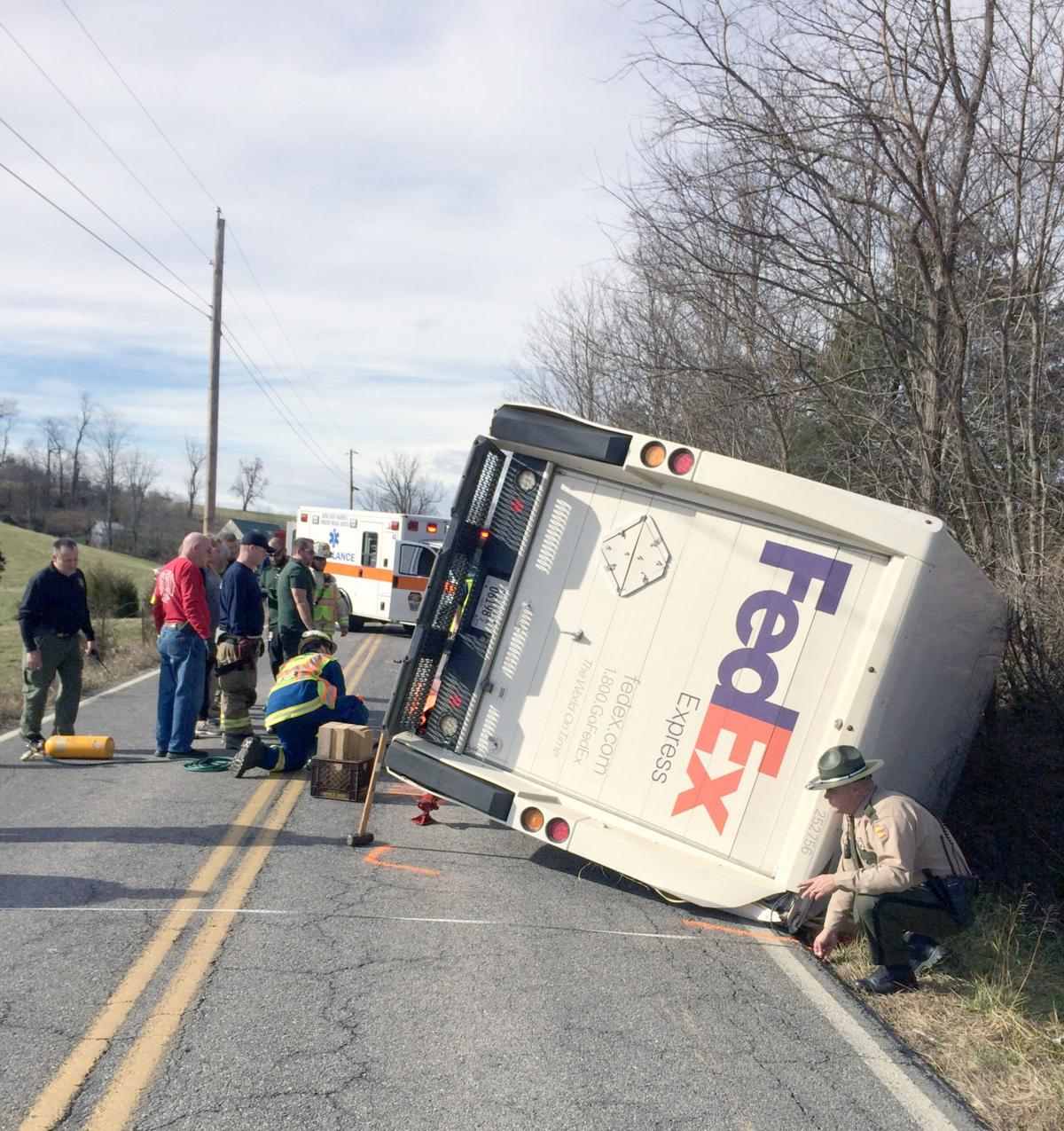 FedEx Delivery Truck Driver Killed In Crash