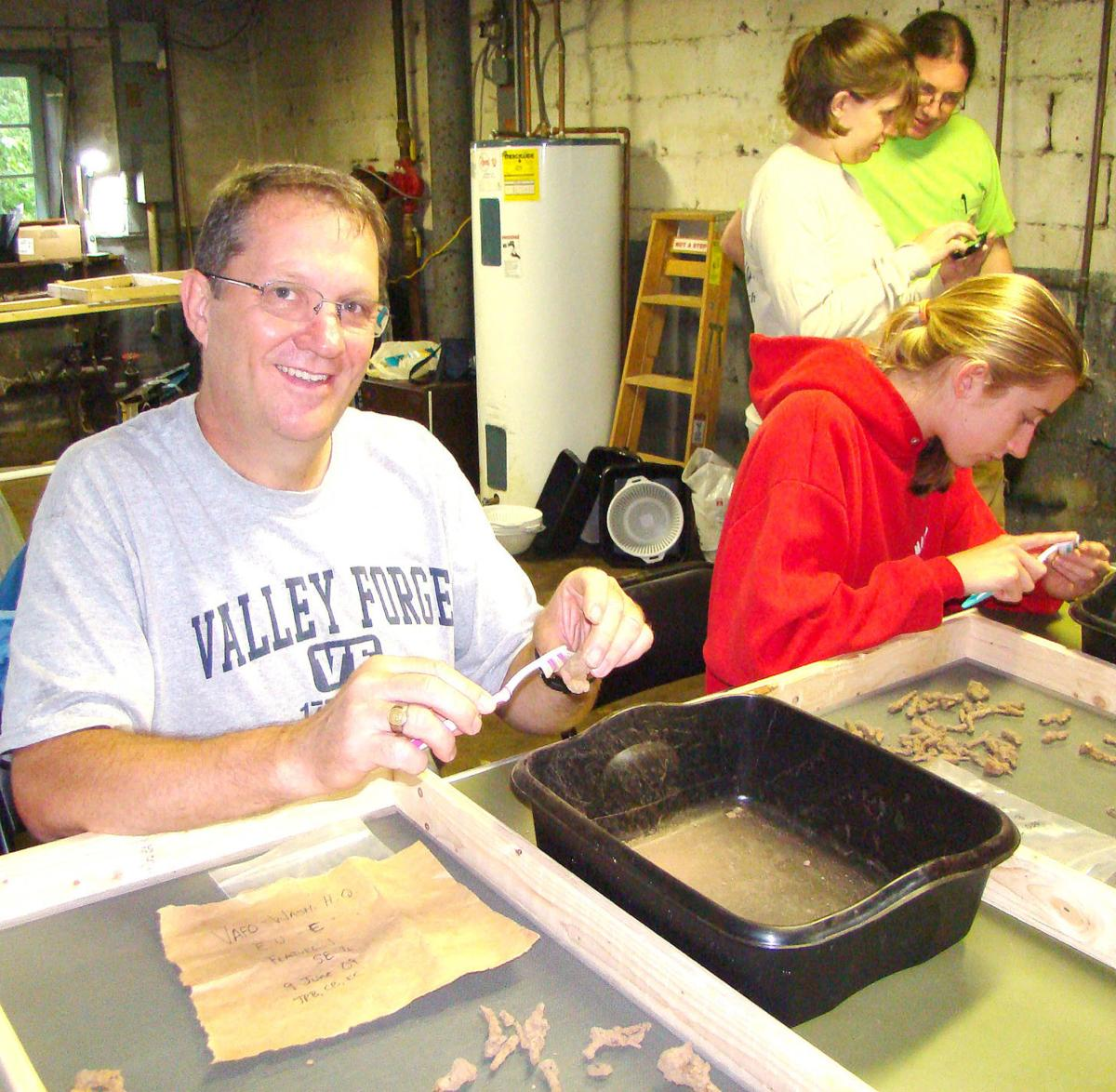 DIgging At Valley Forge
