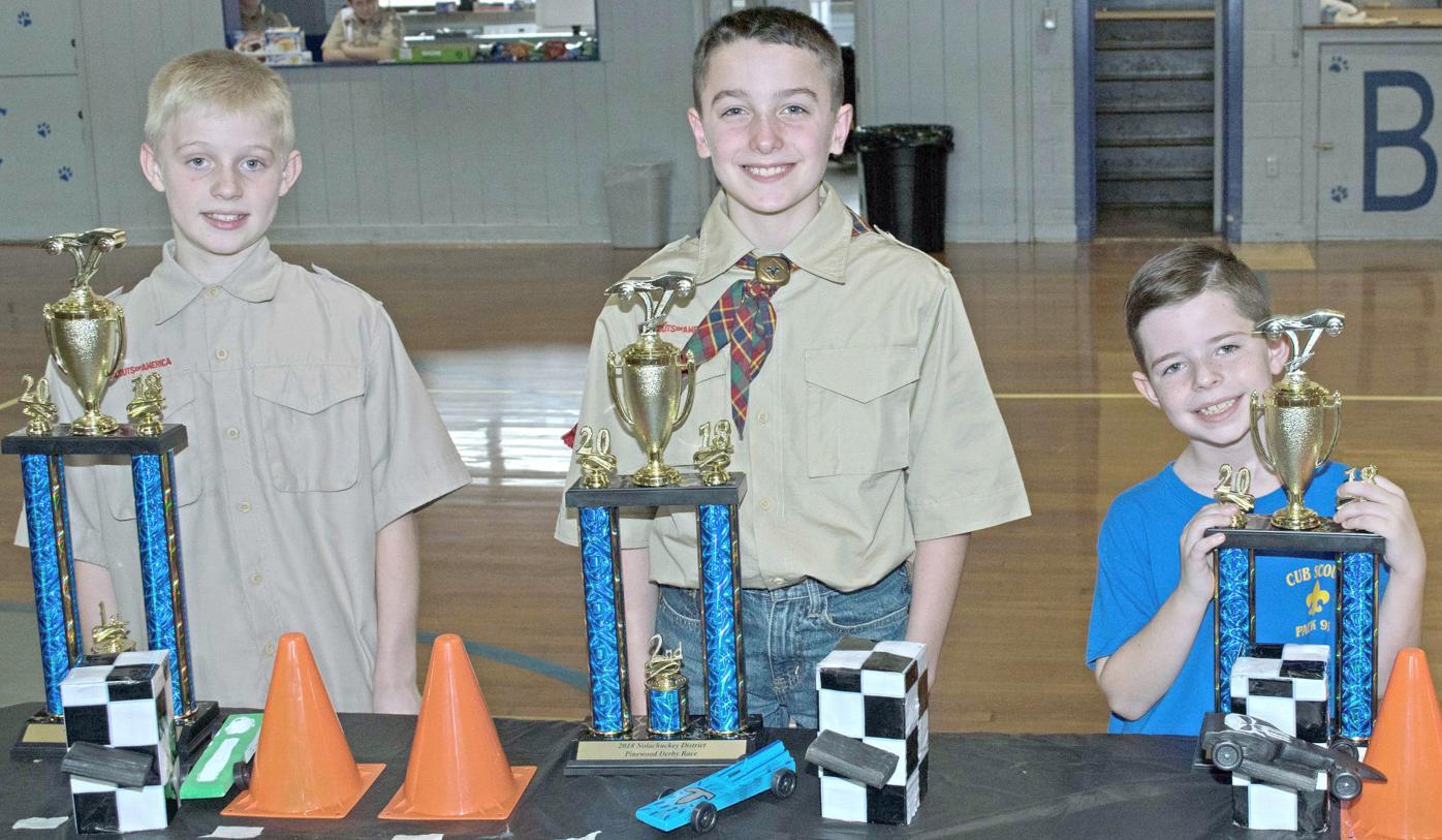 Pinewood Derby Winners