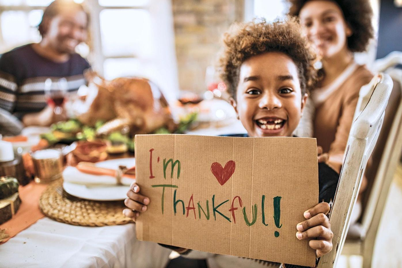 THANKSGIVING GRATITUDE
