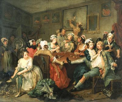 An 18th century rake