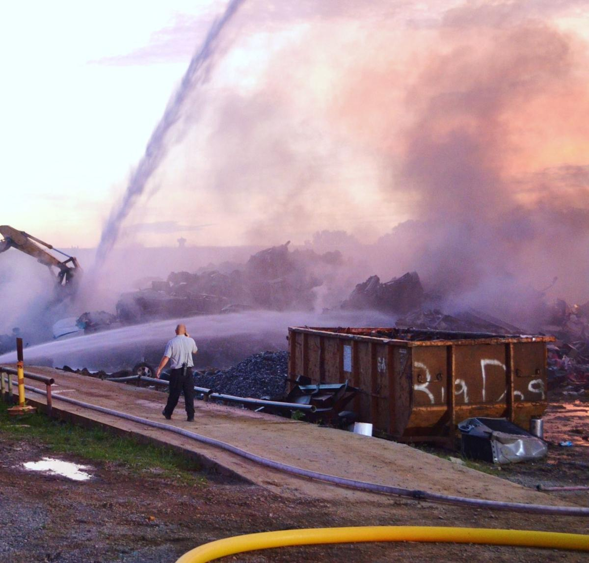West Main Recycling Fire #11