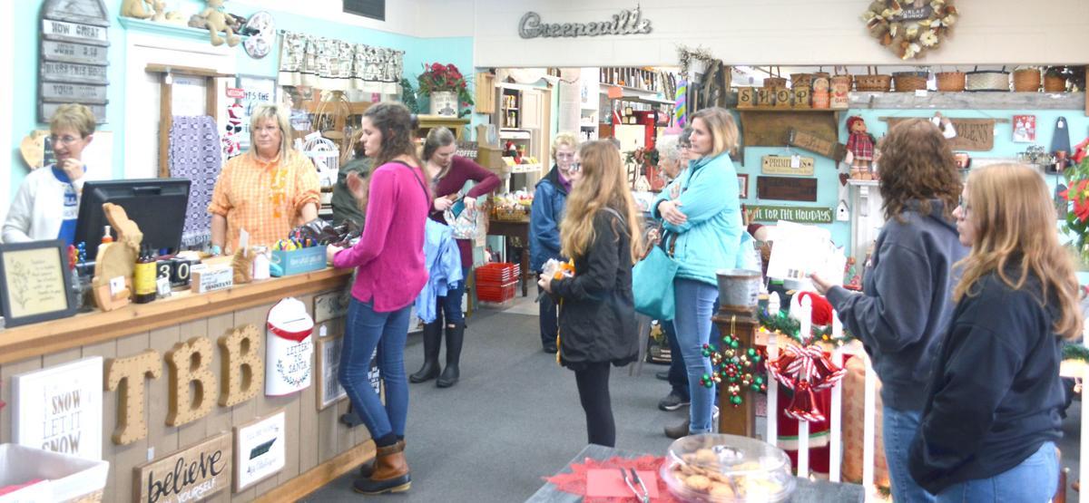Customers In The Burlap Bunny