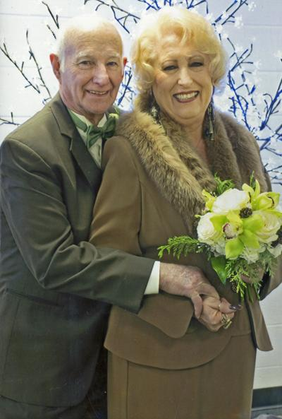 Charmie Bible Justis Weds Stuart Rominger