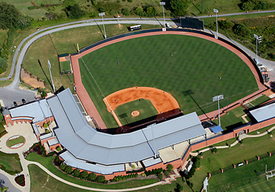 Pioneer Park home of the Greeneville Flyboys