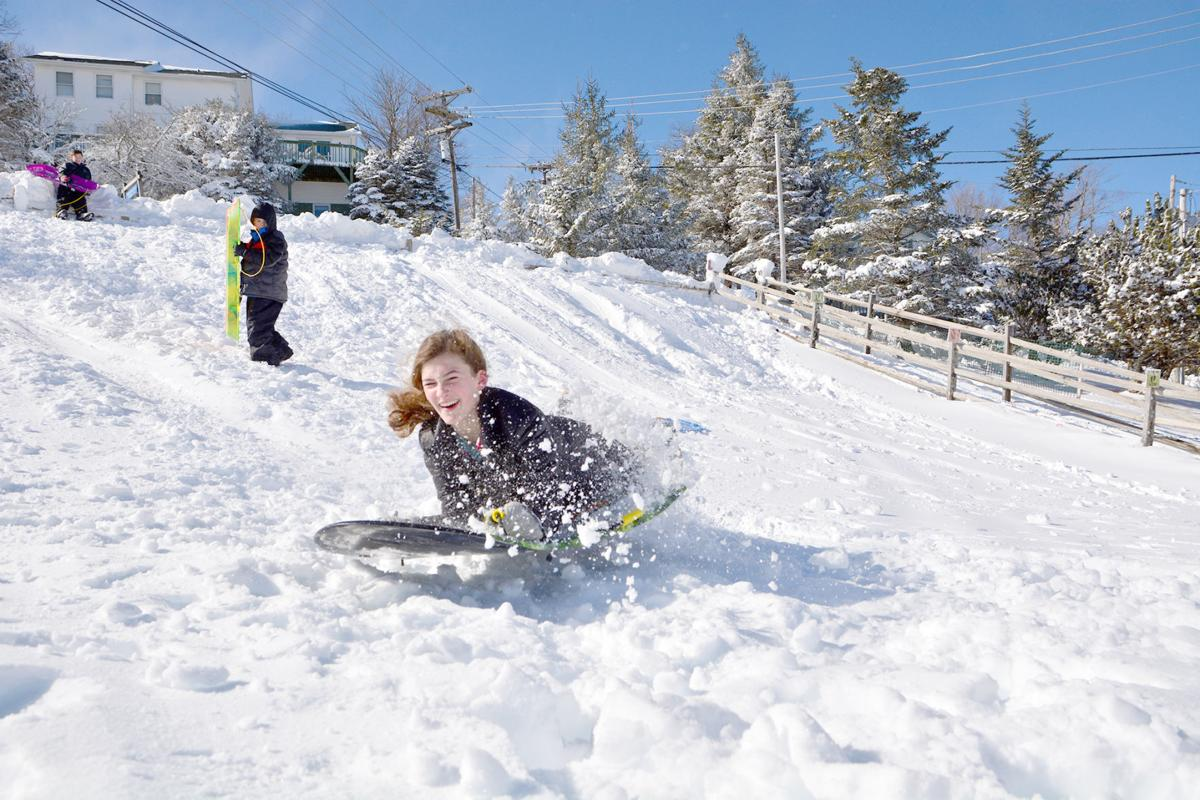 Beech Mountain Sledding Hill Open For The Season Living - The best sledding hills in north america
