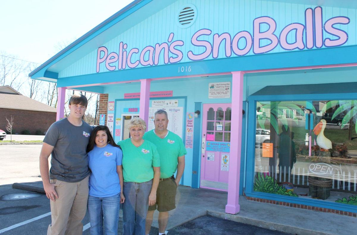 Pelican 39 s snoballs brings bold new building flavors to g for Franchise ad garage