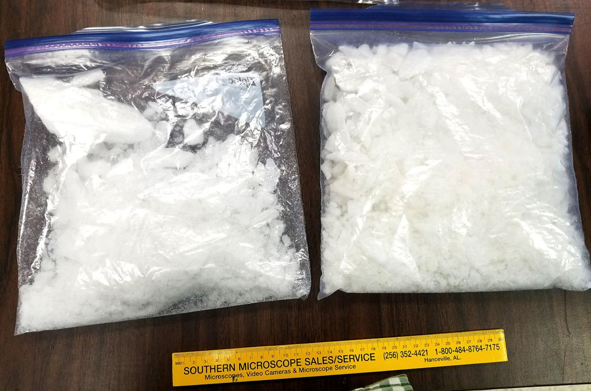 DTF Takes Quantity Of Meth Off The Street