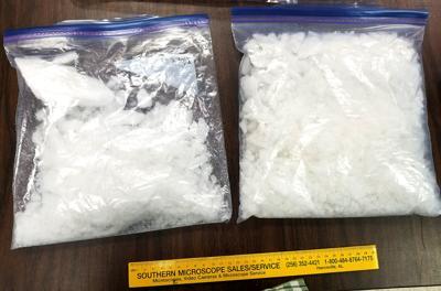 Quantity Of Methamphetamine