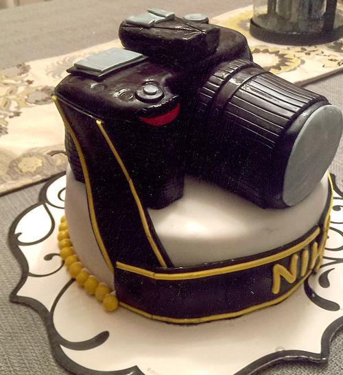 Outstanding Camera Birthday Cake Greenevillesun Com Funny Birthday Cards Online Benoljebrpdamsfinfo