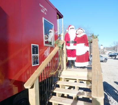 Santa Visiting Chuckey Depot, Museum Saturday