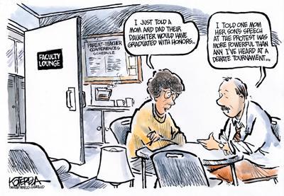 The New Normal Editorial Cartoons Greenevillesun Com