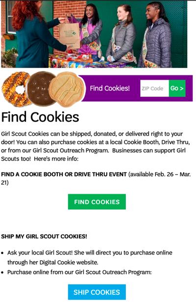 Find Cookies