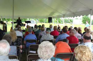 Service at 2014 Decoration Day Memorial Celebration