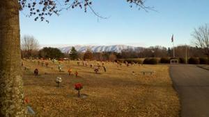 GreeneLawn Memory Gardens in Winter