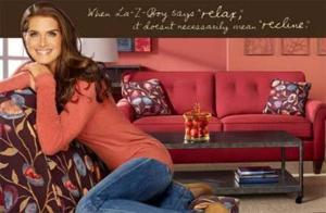 Lazy-Boy and Brooke Shields