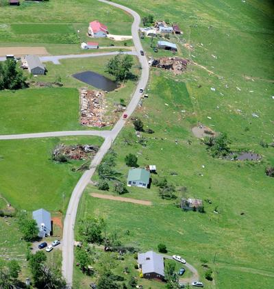 Houses Destroyed By Tornado