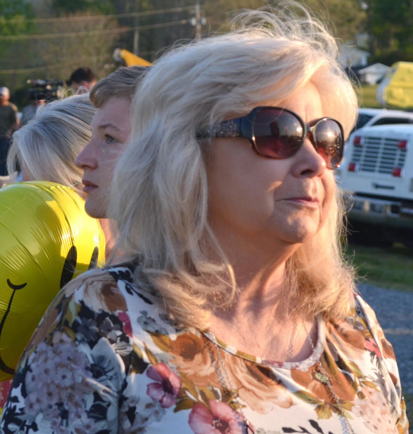 Tornado Victims' WIfe Attends Memorial Service