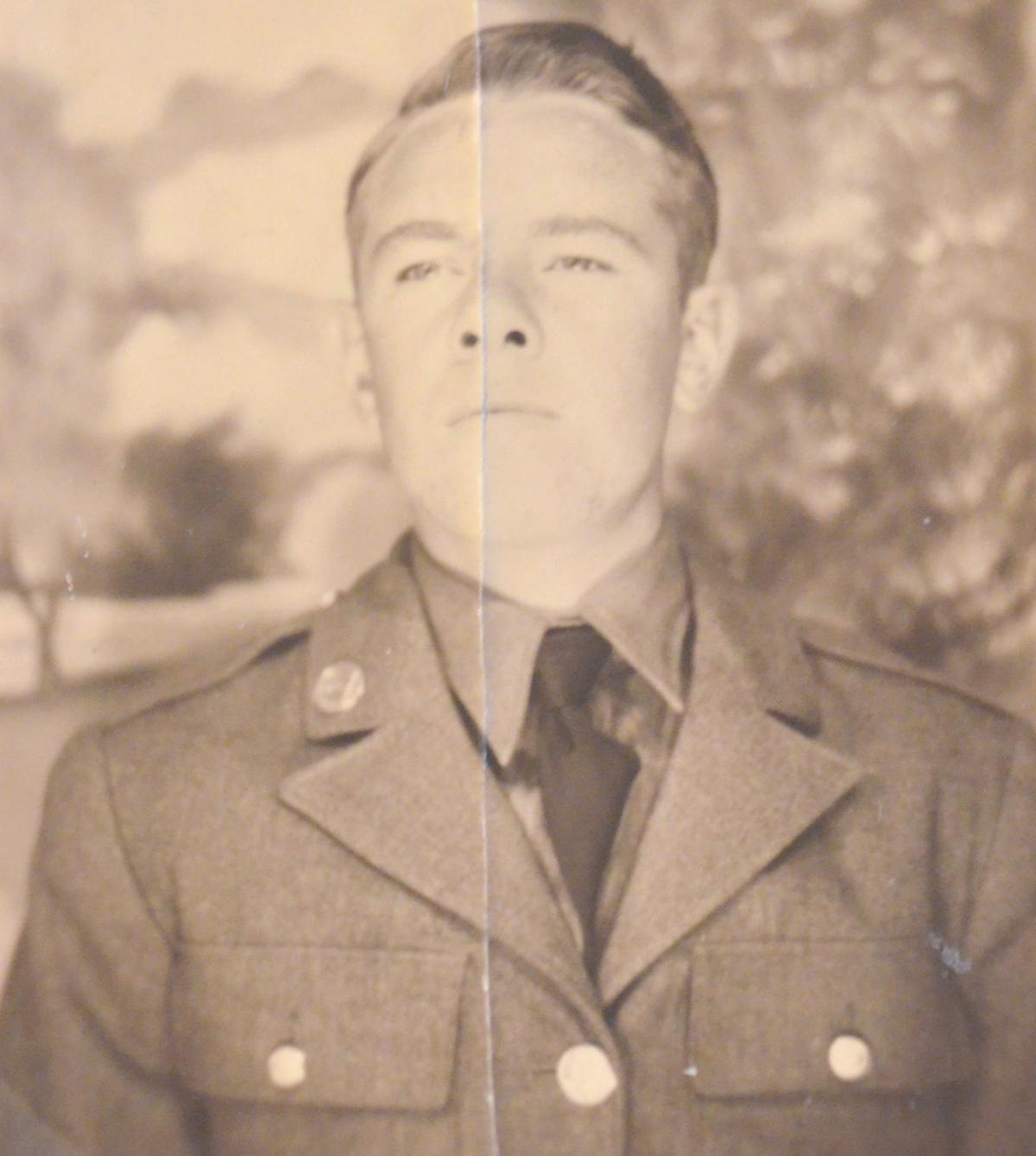 Arthur Ricker U.S. Army Photo