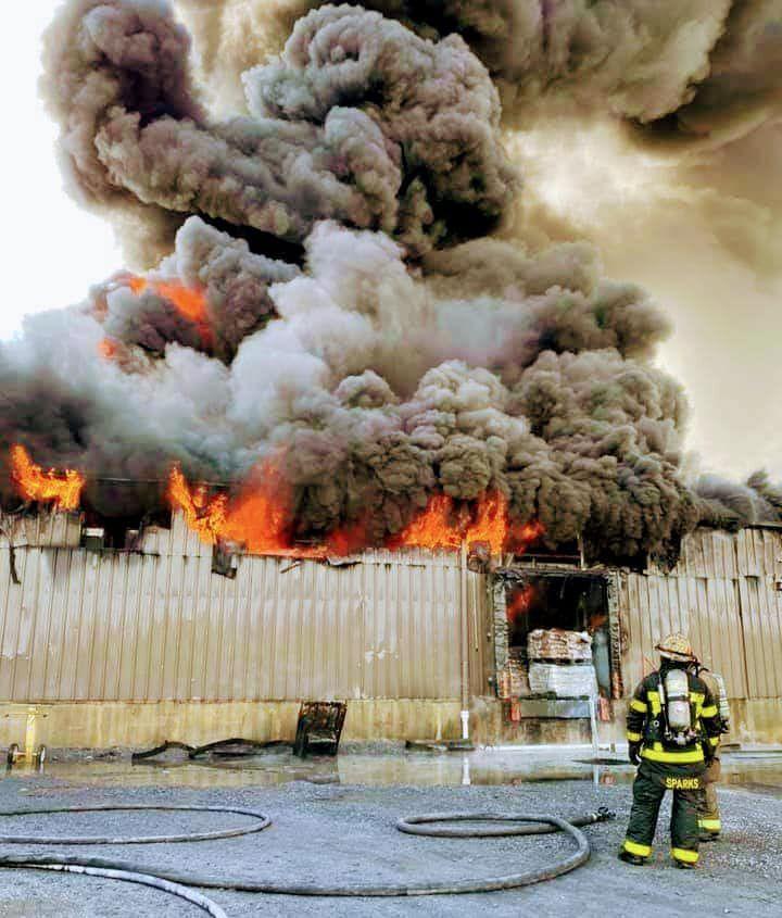 Fire Burns At HEXPOL Plant