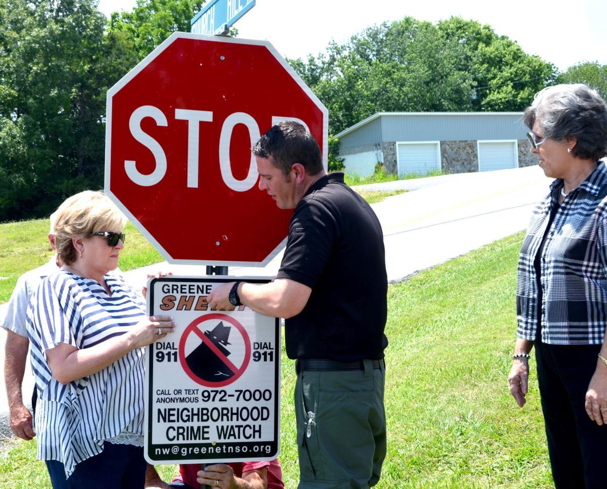 how to get neighborhood watch signs