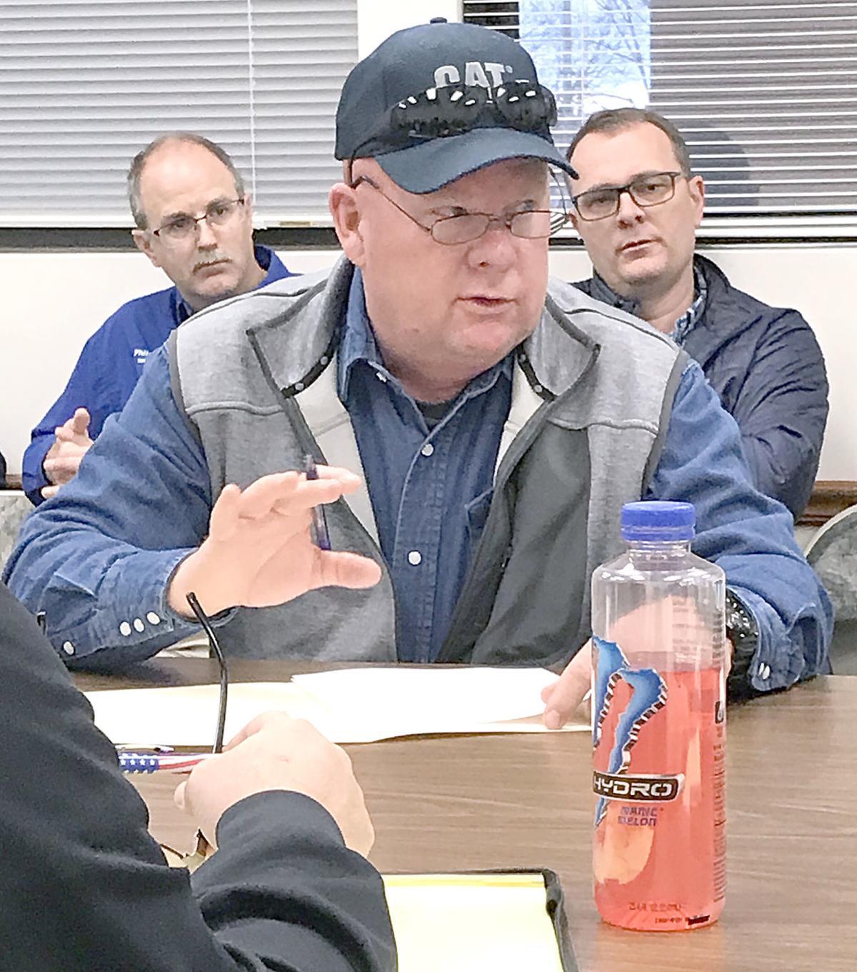 Kevin Swatsell At EMA Flooding Meeting