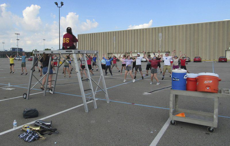 County marching band preparing for 2019 show