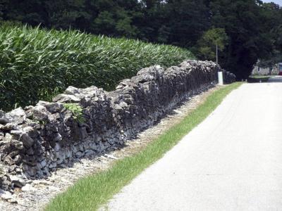 The Harris City wall