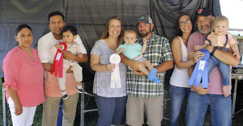 Decatur Co. Fair Baby Show results