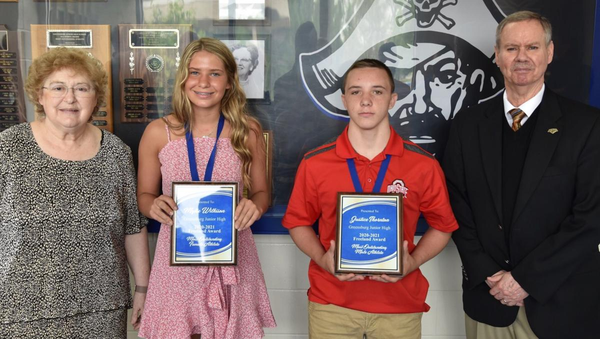 Freeland Award winners