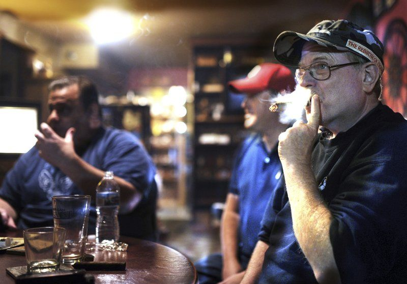 Bill adds smoke to high-end cigar bars