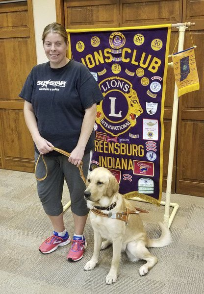 Local woman receives guide dog