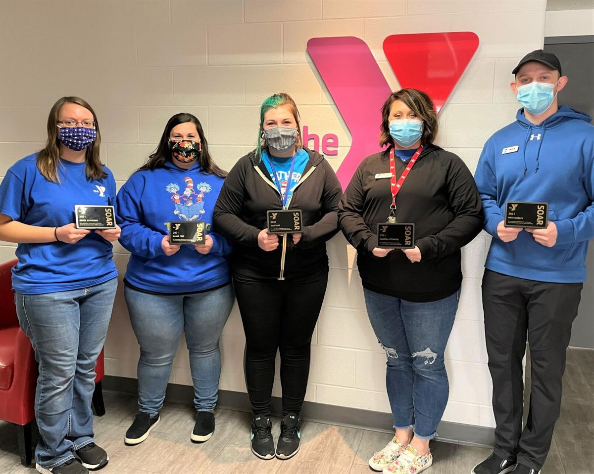Southeastern Indiana YMCA staff members receive special recognition