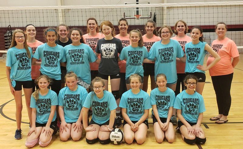 Lady Cougars volleyball hosts successful camp