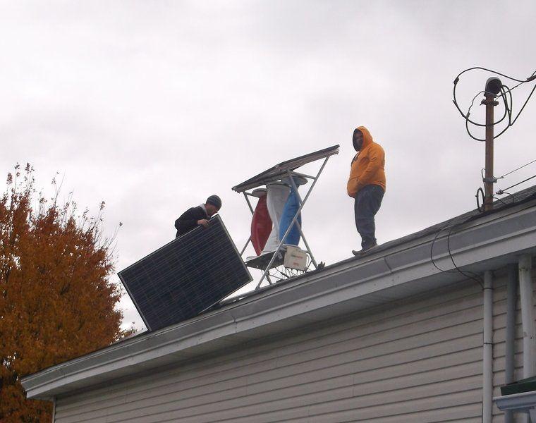 Local Solar Contractor Installs Area Roof Top Solar Panels