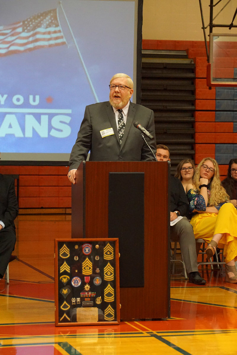 NDHS holds ceremony honoring veterans