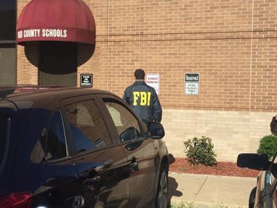 FBI agents swarm Vigo County school corp  building   News